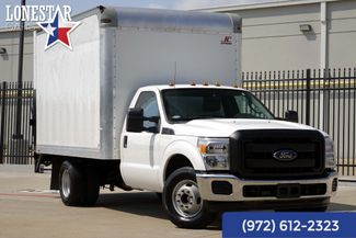 2015 Ford F350SD XL 12' Supreme Box Truck One Owner Clean Carfax in Plano Texas, 75093