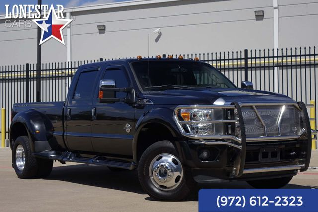 2015 Ford F350SD Platinum Diesel Dually