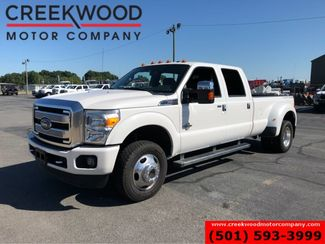 2015 Ford Super Duty F-350 Platinum 4x4 Diesel Dually White Nav Sunroof CLEAN in Searcy, AR 72143