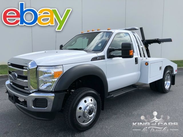 2015 Ford F450 4x4 Holmes SELF LOADER WRECKER ONLY 4K ACTUAL MILES
