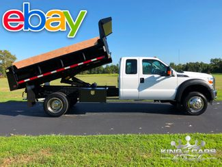 2015 Ford F550 4x4 V10 Ext CAB 11' MASON DUMP 1-OWNER ONLY 7K MILES in Woodbury, New Jersey 08096