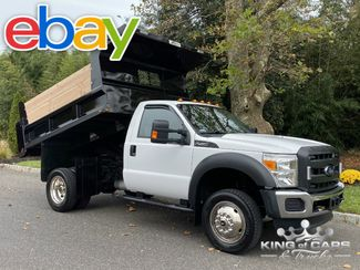 2015 Ford F550 4x4 V10 Reg CAB MASON DUMP 1-OWNER ONLY 23K MILES WOW in Woodbury, New Jersey 08096
