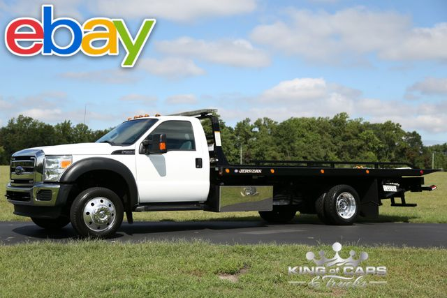 2015 Ford F550 Xlt Jerr -DAN 2-CAR ROLLBACK 6.8L V10 LOW MILES 1-OWNER