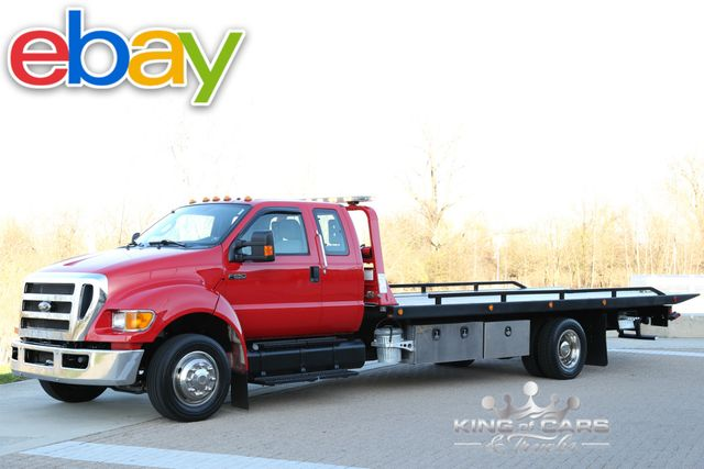 2015 Ford F650 Xcab Rollback 6.7L CUMMINS DIESEL LOW MILES 1OWNER