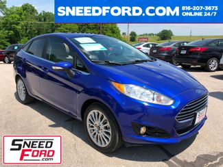 2015 Ford Fiesta Titanium Sedan in Gower Missouri, 64454