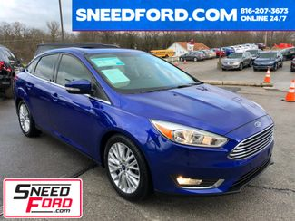 2015 Ford Focus Titanium Sedan in Gower Missouri, 64454