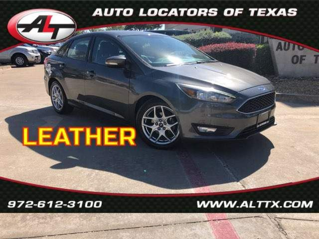 2015 Ford Focus SE with LEATHER