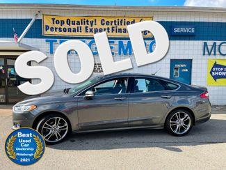 2015 Ford Fusion Titanium in Bentleyville, Pennsylvania 15314