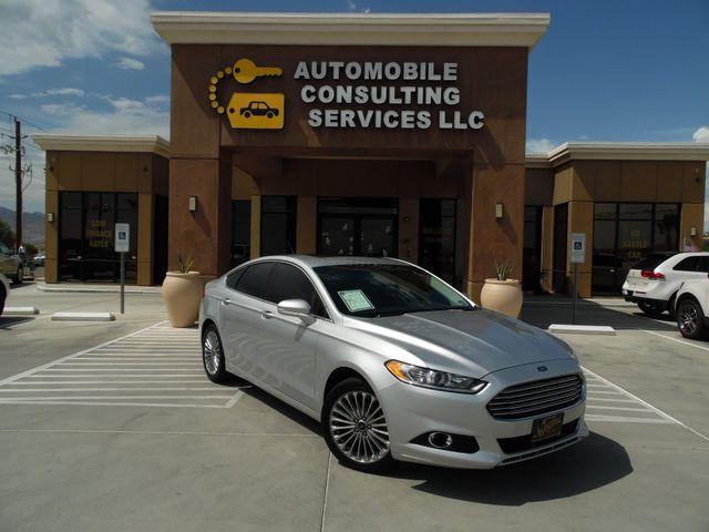 2015 Ford Fusion Titanium ecoboost