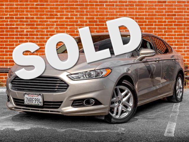 2015 Ford Fusion SE Burbank, CA 0