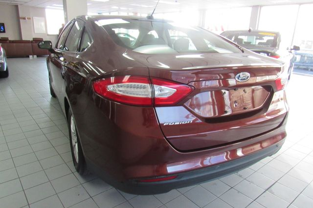2015 Ford Fusion S W/ BACK UP CAM Chicago, Illinois 3