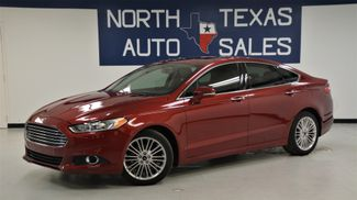 2015 Ford Fusion SE ONE OWNER LEATHER NAVIGATION SUNROOF in Dallas, TX 75247