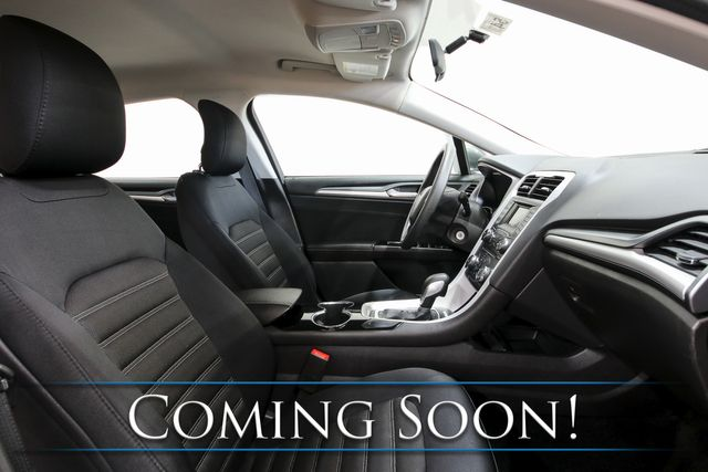 2015 Ford Fusion SE w/Backup Camera, Power Seats, Bluetooth/SAT Radio & Gets 34MPG in Eau Claire, Wisconsin 54703