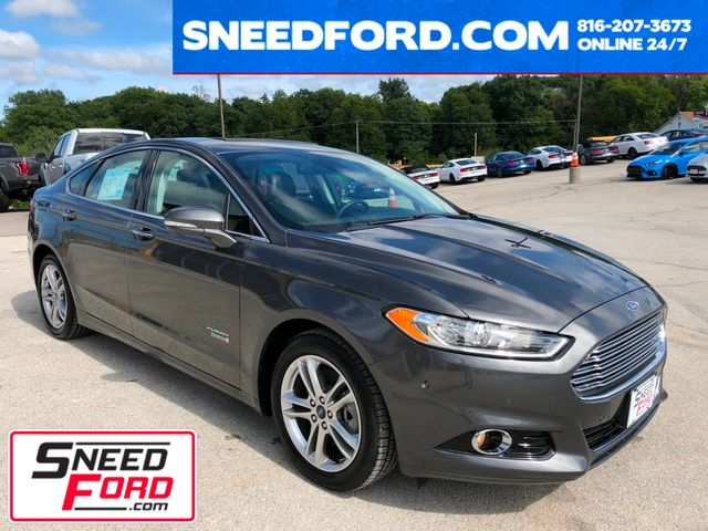 2015 Ford Fusion Energi Titanium in Gower Missouri, 64454