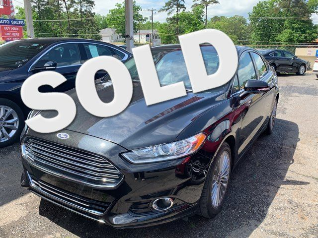 2015 Ford Fusion Titanium - John Gibson Auto Sales Hot Springs in Hot Springs Arkansas