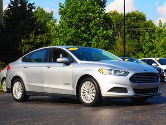 2015 Ford Fusion Hybrid S   Champaign, Illinois   The Auto Mall of Champaign in Champaign Illinois