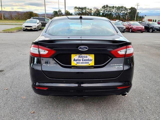 "2015 Ford Fusion Hybrid Titanium SYNC Leather Sunroof w/17"" Alloys in Louisville, TN 37777"