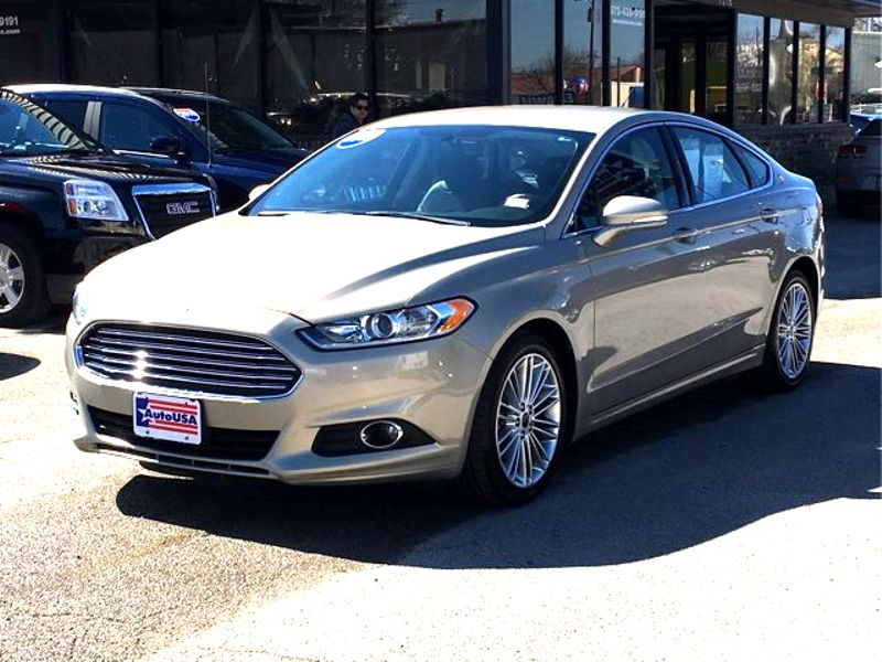 2015 Ford Fusion SE, Leather | Irving, Texas | Auto USA in Irving Texas