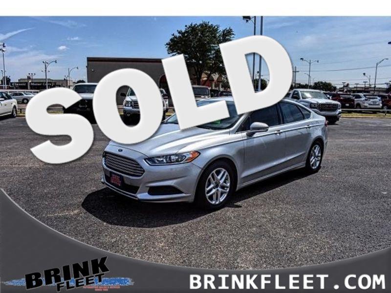 2015 Ford Fusion SE | Lubbock, TX | Brink Fleet in Lubbock TX