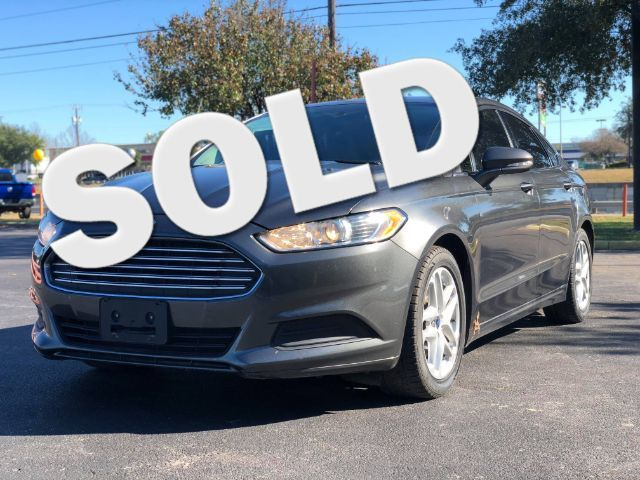 2015 Ford Fusion SE in San Antonio TX, 78233