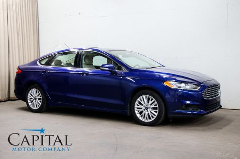 2015 Ford Fusion SE Ecoboost w/Backup Cam, Heated Seats, Power Moonroof, Bluetooth Audio & Gets 34 MPG in Eau Claire