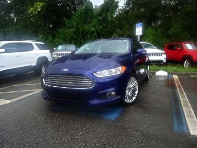 2015 Ford Fusion SE ECO BOOST. LTHR. SUNROOF HTD SEATS SEFFNER, Florida