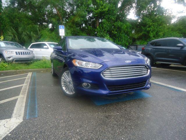 2015 Ford Fusion SE ECO BOOST. LTHR. SUNROOF HTD SEATS SEFFNER, Florida 10