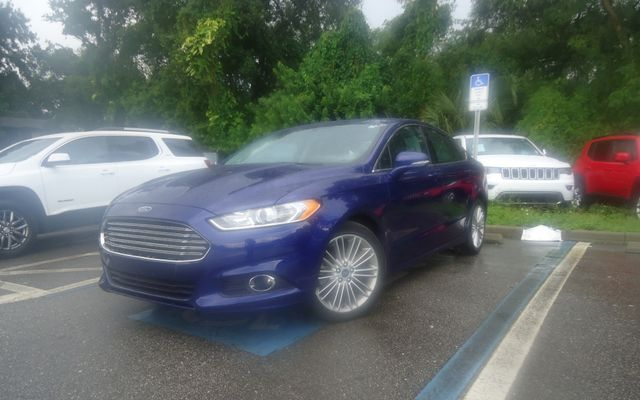 2015 Ford Fusion SE ECO BOOST. LTHR. SUNROOF HTD SEATS SEFFNER, Florida 5