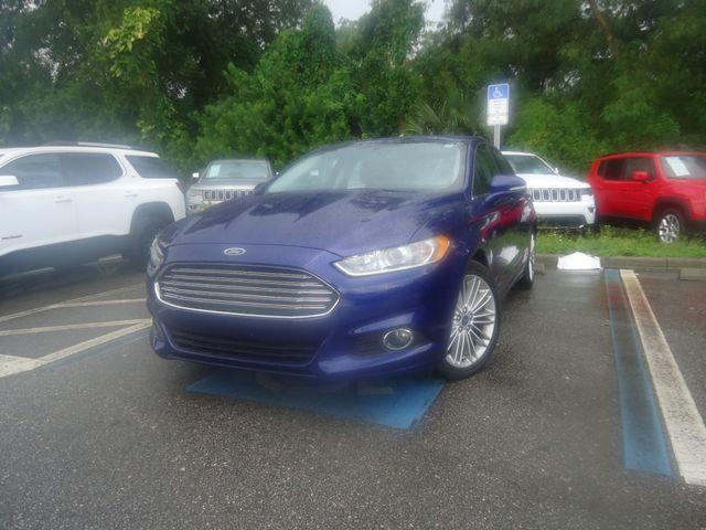 2015 Ford Fusion SE ECO BOOST. LTHR. SUNROOF HTD SEATS SEFFNER, Florida 6