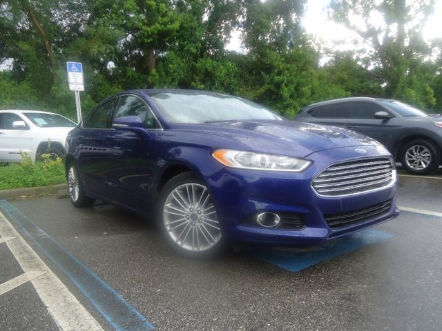 2015 Ford Fusion SE ECO BOOST. LTHR. SUNROOF HTD SEATS SEFFNER, Florida 9