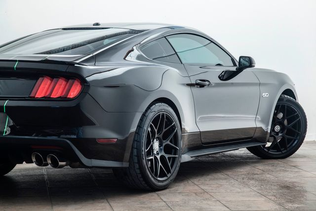 2015 Ford Mustang GT Premium 5.0 on HRE Wheels With Upgrades in Addison, TX 75001