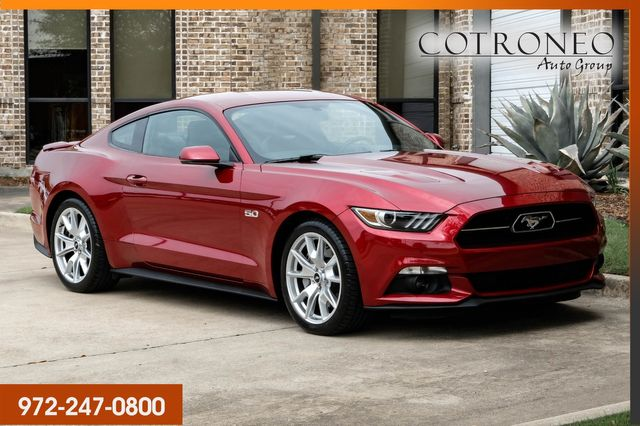 2015 Ford Mustang GT Premium Coupe 50th Anniversary Package