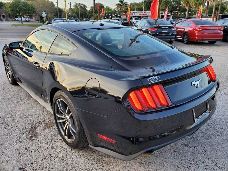 2015 Ford Mustang EcoBoost Premium  Brownsville TX  English Motors  in Brownsville, TX