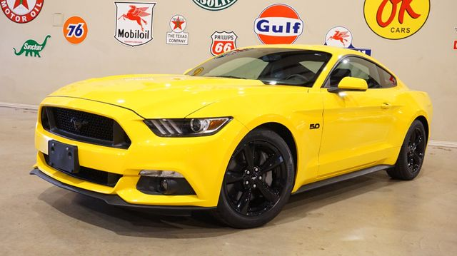 2015 Ford Mustang GT 6 SPD,BACK-UP CAM,HEATED LEATHER,BLK WHLS,7K