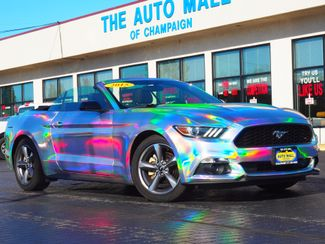 2015 Ford Mustang V6 Convertible   Champaign, Illinois   The Auto Mall of Champaign in Champaign Illinois