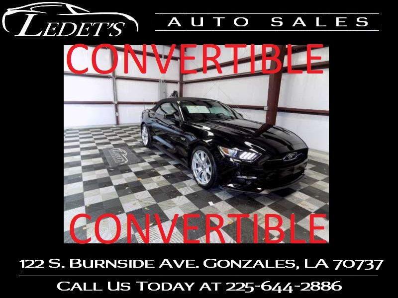 2015 Ford Mustang GT Premium - Ledet's Auto Sales Gonzales_state_zip in Gonzales Louisiana