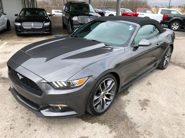 2015 Ford Mustang EcoBoost Premium Convertible in Gower Missouri, 64454