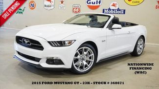 2015 Ford Mustang GT Convertible Premium NAV,BACK-UP,HTD/COOL LTH,SH... in Carrollton TX, 75006