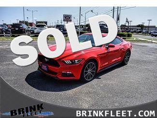 2015 Ford Mustang EcoBoost   Lubbock, TX   Brink Fleet in Lubbock TX
