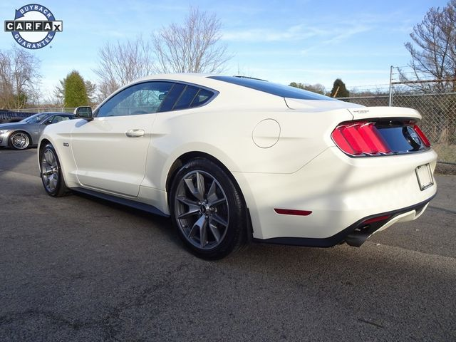 2015 Ford Mustang GT 50 Years Limited Edition Madison, NC 3