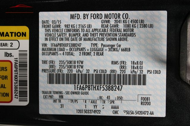 2015 Ford Mustang EcoBoost Merrillville, Indiana 44