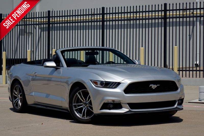 2015 Ford Mustang EcoBoost Premium* Leather* Auto* EZ Finance**   Plano, TX   Carrick's Autos in Plano TX