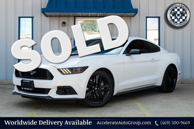 2015 Ford Mustang EcoBoost in Rowlett Texas