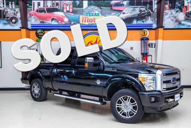 2015 Ford Super Duty F-250 Platinum SRW 4x4