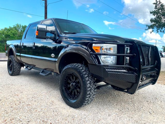 2015 Ford Super Duty F-250 King Ranch Crew Cab 4X4 6.7L Powerstroke Diesel Auto LIFTED in Sealy, Texas 77474
