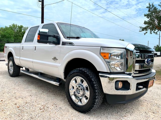 2015 Ford Super Duty F-250 Lariat Crew Cab FX4 4X4 6.7L Powerstroke Diesel Auto in Sealy, Texas 77474