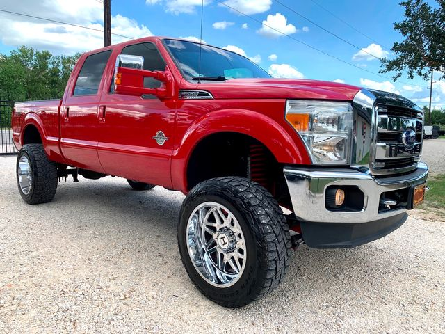 2015 Ford Super Duty F-250 Lariat Crew Cab FX4 4X4 6.7L Powerstroke Diesel Auto LIFTED