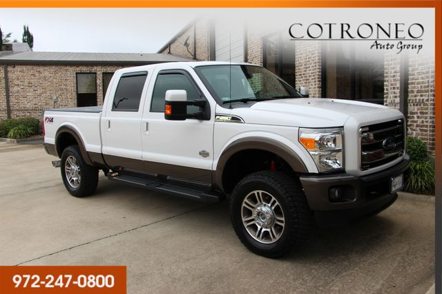 2015 Ford Super Duty F-250 Pickup King Ranch Crew Cab 4WD