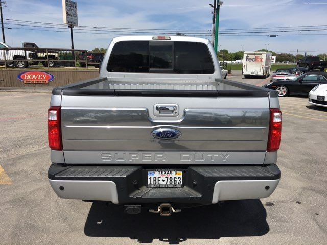 2015 Ford Super Duty F-250 Pickup Platinum 4X4 Boerne, Texas 7