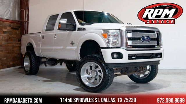 2015 Ford Super Duty F-250 Pickup Platinum Lifted with Upgrades